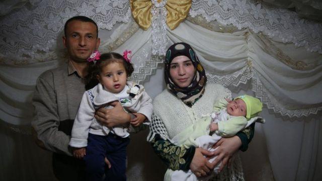 Şanlıurfa'daki bir Suriyeli aile