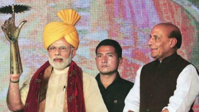 Narendra Modi, Rajnath Singh