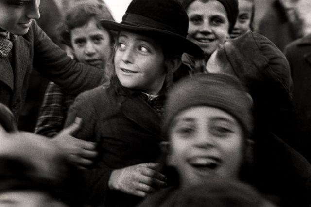 Ученики еврейской школы. Мукачево, Украина. 1935-1938 гг.