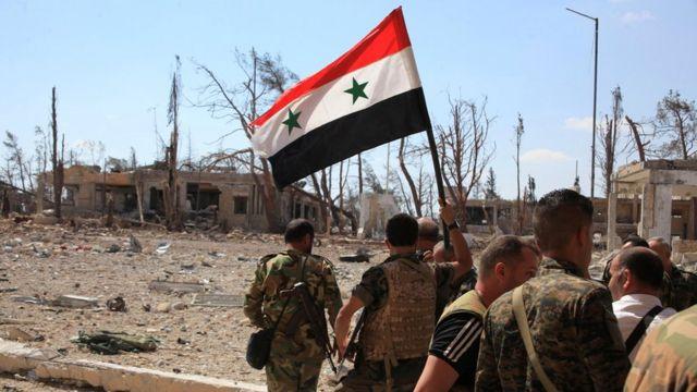 Suriya hökuməti üsyançıların əlində olan şərqdə sentyabr ayında hərbi əməliyyatlara başlayıb