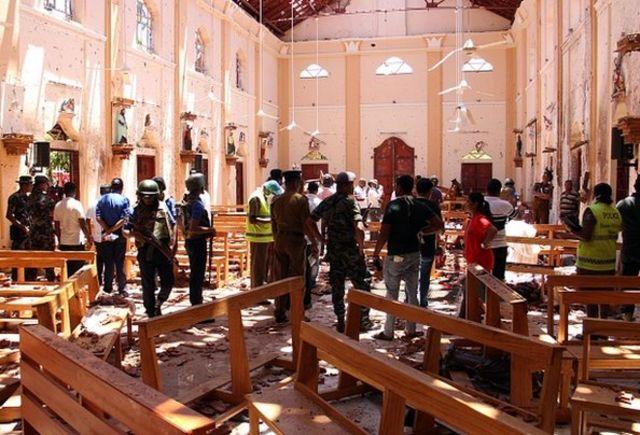 انفجارهای سریلانکا