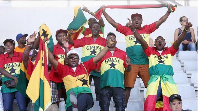 Mashabiki wa Ghana