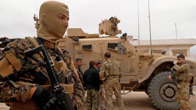 シリアには米兵約2000人が駐留していると考えられている
