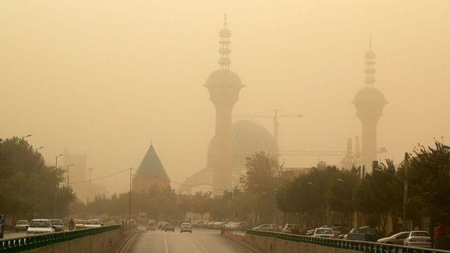 آلودگی هوا در شهر اصفهان