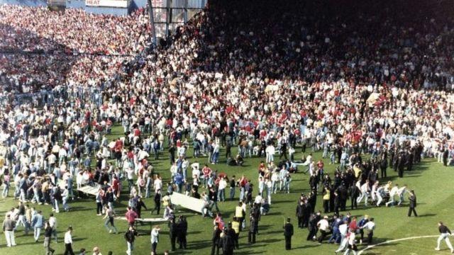صورة للجمهور من الملعب
