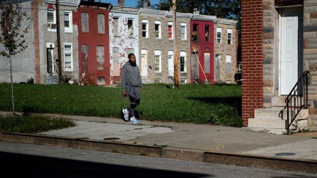 В беднейших районах американского Балтимора о социальном равенстве можно не заикаться