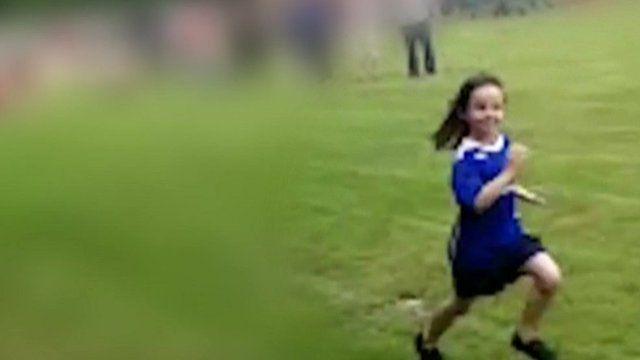 Ellie Butler running