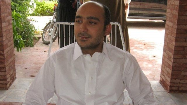 Ali Haider Gilani pictured in 2013