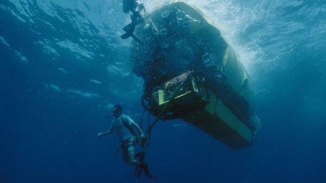 1996'daki dalıştan bir görüntü