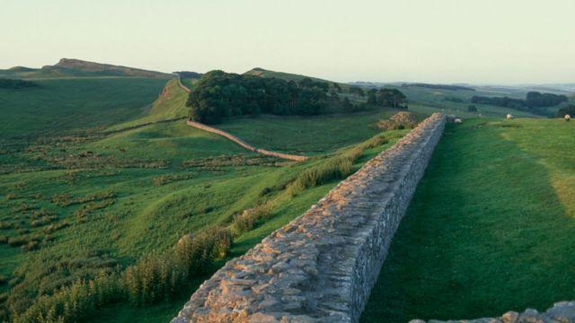 Deo Hadrijanovog zida