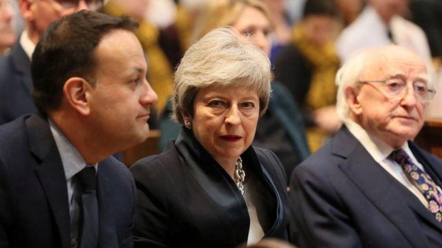 Лидеры Ирландии и Британии