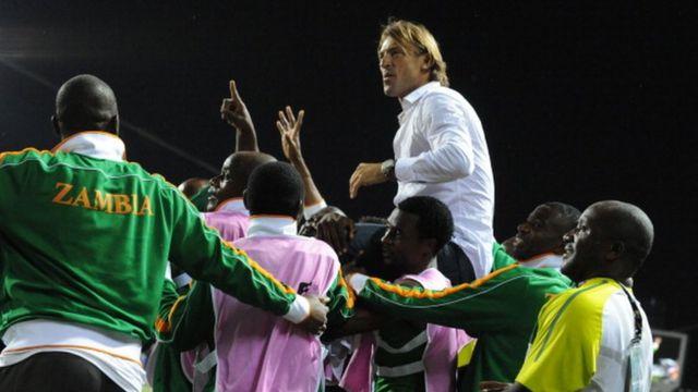 Herve Renard Zambie 2012