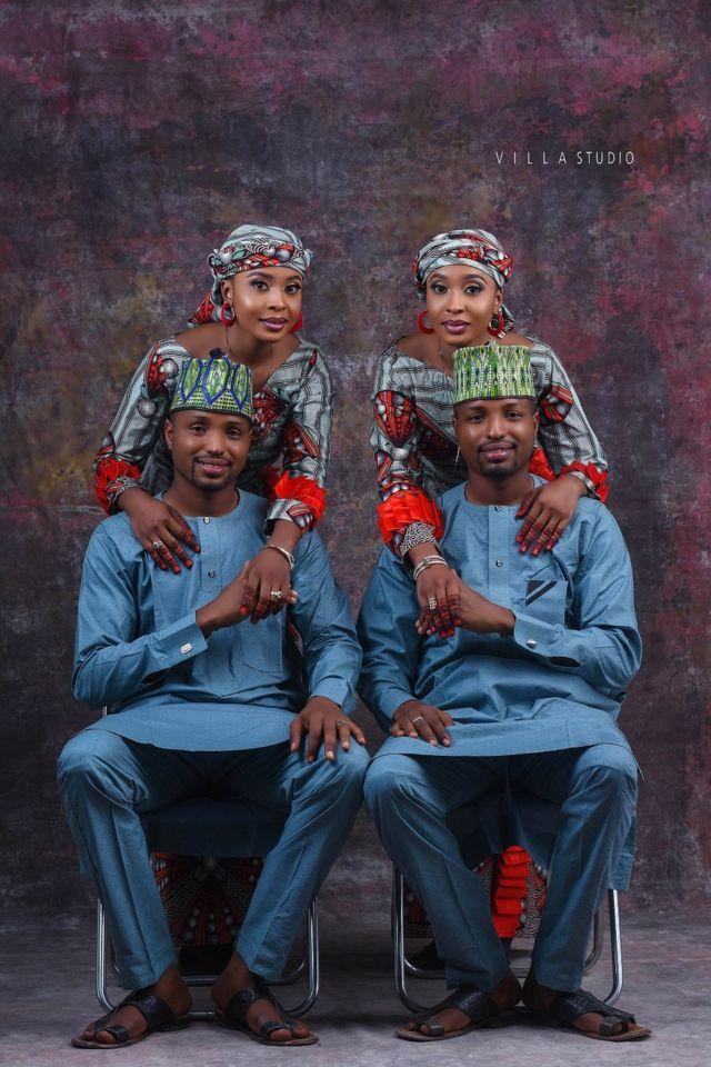 Di twins for dia pre-wedding shoot