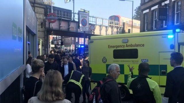 London explosion, లండన్ పేలుడు