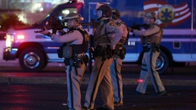 Policía en Las Vegas