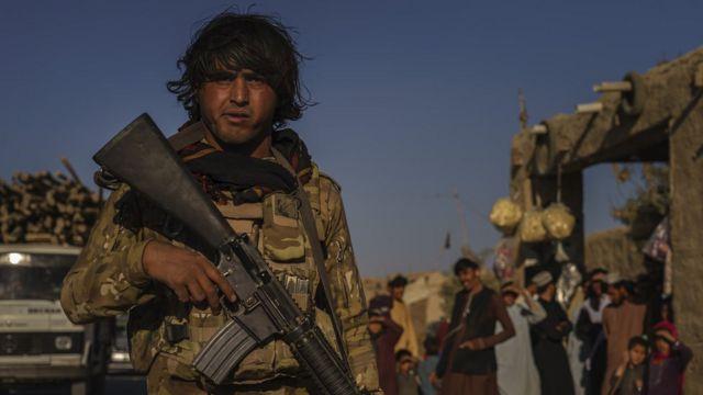 Блок-пост афганской полиции