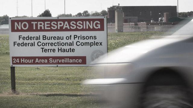 La prisión de Terre Haute en Indiana.