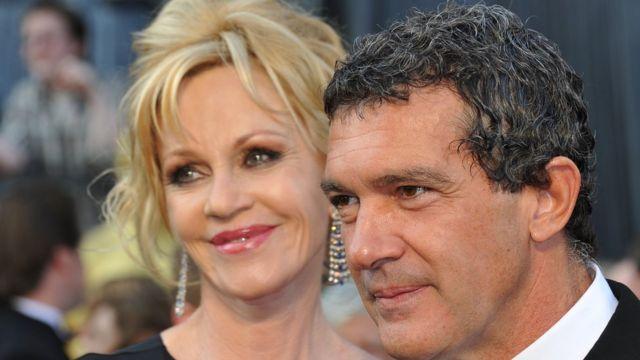Melanie Griffith e Antonio Banderas