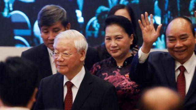 Các lãnh đạo Việt Nam dự hội nghị Asean ở Hà Nội ngày 12/11