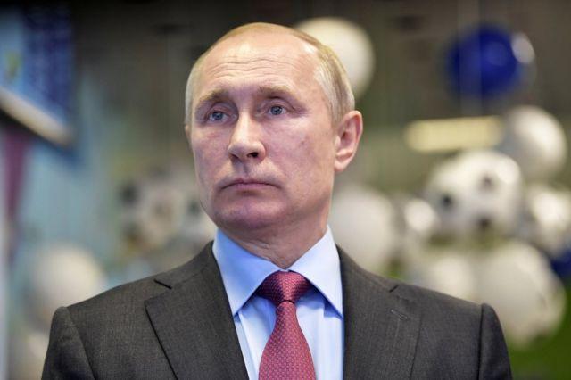 Vladimir Putin, 3 de mayo de 2018