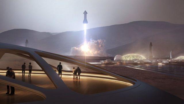 Starship တွေကို သုံးပြီး ကြာသာပတေးဂြိုဟ် အထိ လူသားတွေ နယ်ချဲ့နိုင်ဖို့ စိတ်ကူးတယ်လို့လည်း မစ္စတာ မတ်စ်ခ် က ပြော