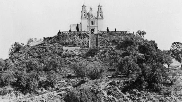 Эта фотография пирамиды датируется началом ХХ века