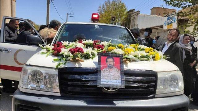 تشییع جنازه عثمان حاجی حسینی