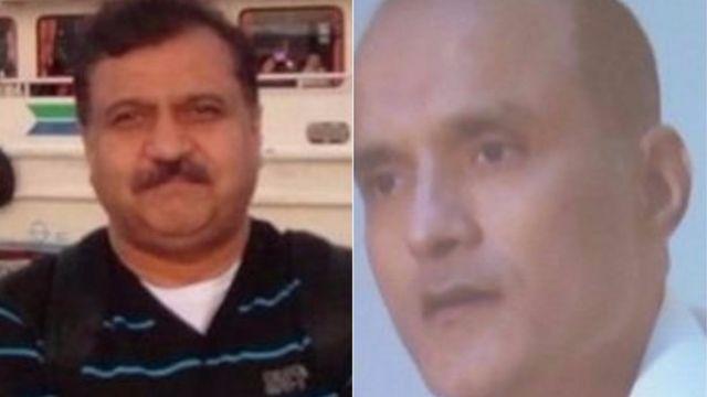 पाकिस्तानी अगवा फ़ौजी हबीब ज़हीर और कुलभूषण जाधव