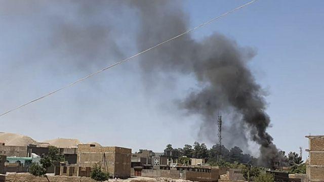 روز گذشته طالبان موفق شدند به شهر قلعه نو رخنه کنند