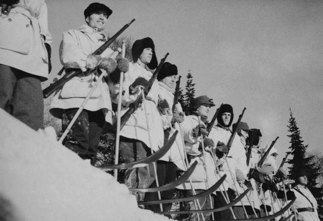 Датский лыжный патруль
