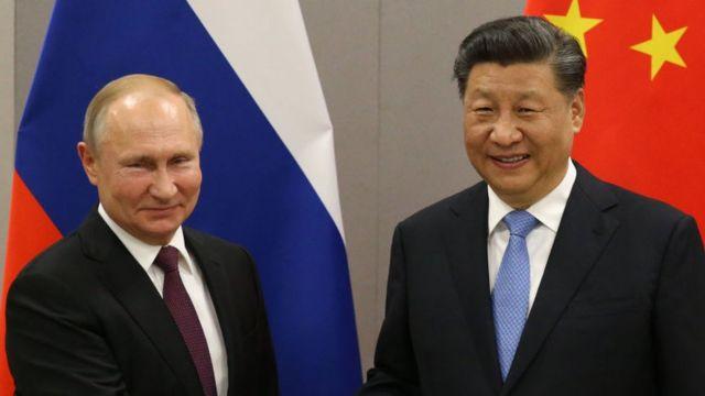 Vladimir Putin y Xi Jingping