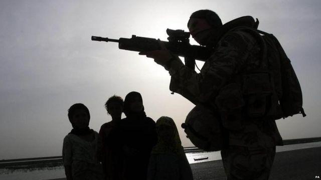 Британские войска в Ираке