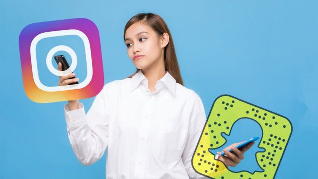 'Instagram used more than Snapchat' by US teens