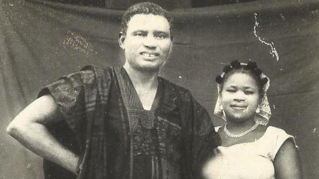 Harcourt Whyte na nwunye ya, Roseline Echeziaku Harcourt.