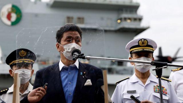 Bộ trưởng Quốc phòng Nhật Bản Nobuo Kishi