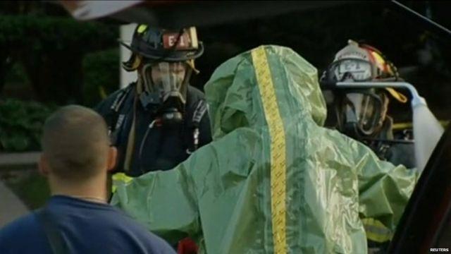 Hazmat teams investigate deaths near Chicago