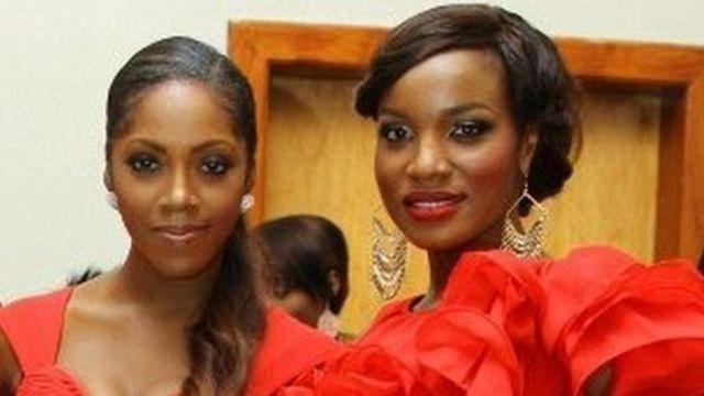 Tiwa Savage, Seyi Shay video: Beauty salon insult on Victoria Kamani beef - See 'Tiwa, Sheyi Shay' profiles