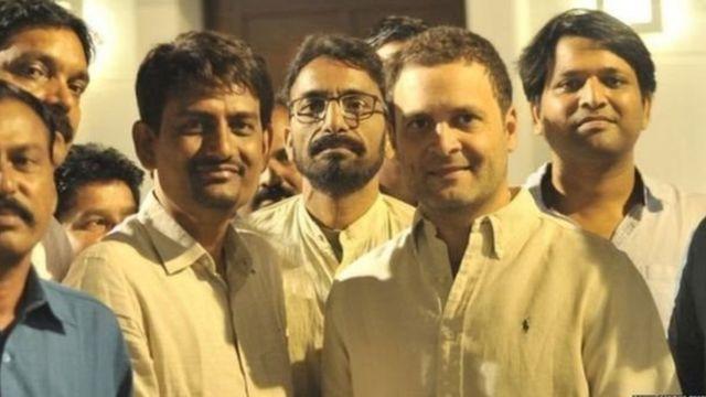 राहुल गांधी, अल्पेश ठाकोर