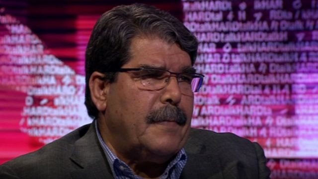 Saleh Muslim: Syrian Kurdish leader arrested in Prague
