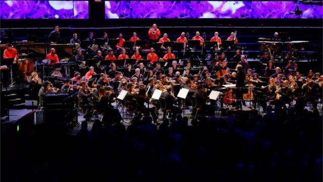 Orquestra Sinfônica do Estado de São Paulo regida por Marin Alsop