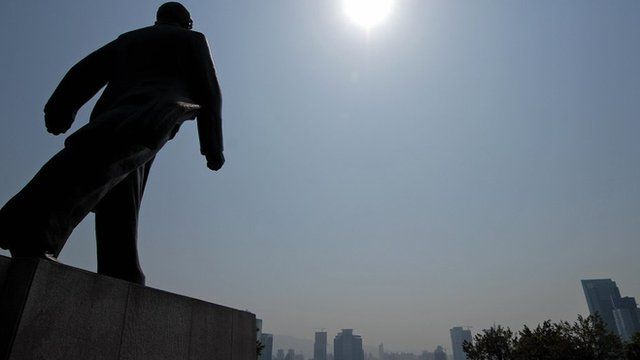 A statue in Shenzhen of Deng Xiaoping, the man who transformed China's economy
