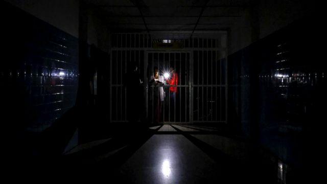 В марте 2019 года больницы по всей Венесуэле остались без света на пять дней
