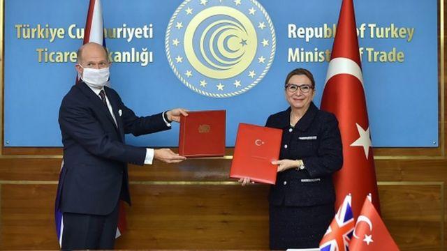 Serbest ticaret anlaşmasını Ticaret Bakanı Ruhsar Pekcan ile Chilcott, 29 Aralık'ta imzalandı