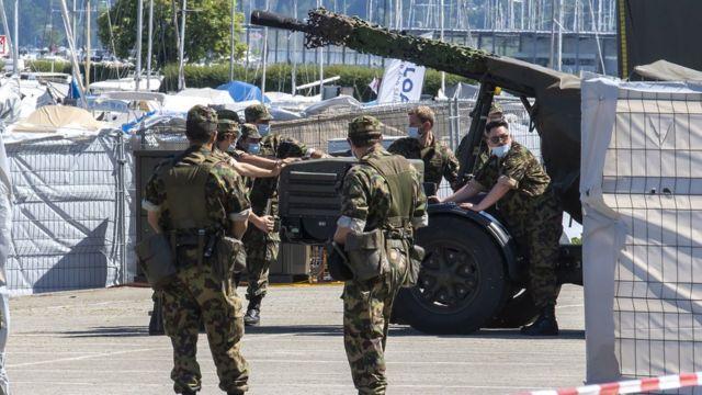 Перед встречей Байдена с Путиным в Женеве усилены меры безопасности