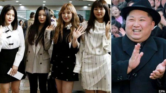 Ban nhạc Red Velvet của Hàn Quốc