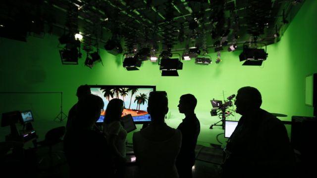 Журналисты RT в ожидании визита В.Путина