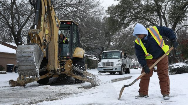 The Fort Worth Water department is dealing with large amount of water main breaks in Texas