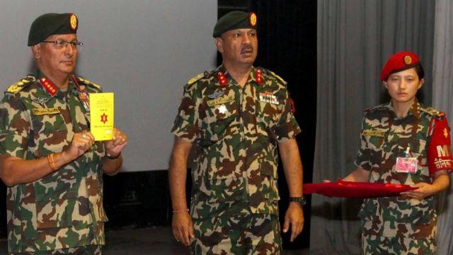 नेपाली सेनाका प्रमुख