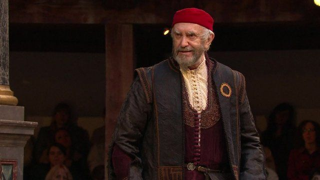 Jonathan Pryce in The Merchant of Venice