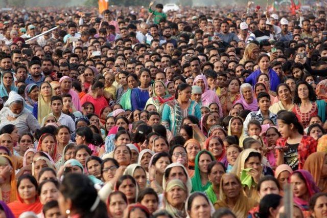 ভারতে ২০১৯ সালের নির্বাচনে ৬০ কোটি লোক ভোট দিয়েছে